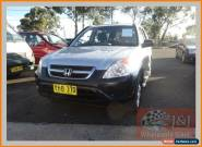 2004 Honda CR-V MY04 (4x4) Silver Manual 5sp M Wagon for Sale