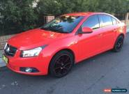 2009 Holden Cruze JG CDX Red Automatic 6sp A Sedan for Sale