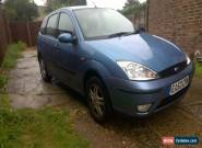 2003 FORD FOCUS ZETEC BLUE 1,6 for Sale