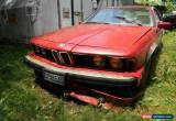 Classic 1983 BMW 6-Series for Sale