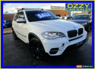 2012 BMW X5 E70 MY12 Upgrade xDrive 30D White Automatic 8sp A Wagon for Sale