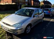 Ford Focus Zetec 1.6 Litre MK1 Petrol Manual Silver  for Sale