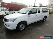 2012 Toyota Hilux GGN15R MY12 SR White Automatic 5sp A Extracab for Sale