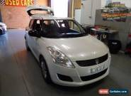 2012 Suzuki Swift FZ GA White Manual 5sp M Hatchback for Sale