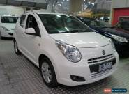 2010 Suzuki Alto GF GLX White Automatic 4sp A Hatchback for Sale