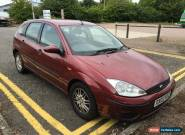 FORD FOCUS LX, SPARES OR REPAIRS, NO MOT, 1.6 PETROL,  STARTS, RUNS AND DRIVES for Sale