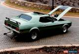 Classic 1971 Ford Mustang for Sale