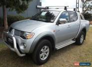 2006 Mitsubishi Triton ML GLX-R (4x4) Silver Manual 5sp M Dual Cab Utility for Sale