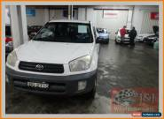 2002 Toyota RAV4 ACA20R Edge (4x4) White Manual 5sp M Wagon for Sale