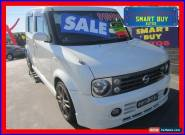 2006 Nissan Cube Z11 Pearl White Automatic A Wagon for Sale