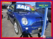2005 Mini Cooper R52 S Cabrio Blue Manual 6sp M Cabriolet for Sale