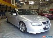 2005 Holden Commodore VZ Storm Silver Manual 6sp M Utility for Sale