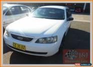 2003 Ford Falcon BA XT White Automatic 4sp A Wagon for Sale
