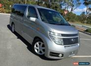 2003 Nissan Elgrand E51 Highway Star L Silver Automatic 5sp A Wagon for Sale