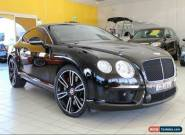 2013 Bentley Continental 3W GT Black Automatic 6sp A Coupe for Sale