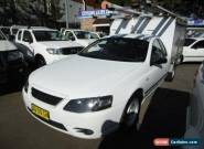 2007 Ford Falcon BF MkII XL White Automatic 4sp A Cab Chassis for Sale