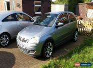 2004 VAUXHALL CORSA DESIGN 16V SILVER for Sale