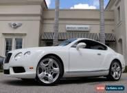 2013 Bentley Continental GT GT V8 for Sale
