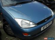 2001 FORD FOCUS ESTATE LX TD DI BLUE for Sale
