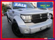 2007 Dodge Nitro KA SXT Silver Automatic 4sp A Wagon for Sale