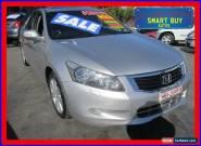 2008 Honda Accord 50 V6 Luxury Silver Automatic 5sp A Sedan for Sale