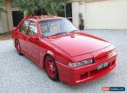 1988 Holden Brock VL HDT Commodore Maranello Red Manual 5sp M Sedan for Sale