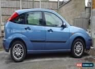 2003 Ford Focus 1.6 LX Zetec - Petrol - Blue   for Sale
