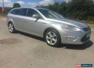 2011 FORD MONDEO TITANIUM TDCI 163 SILVER ESTATE 1 OWNER FULL HISTORY for Sale