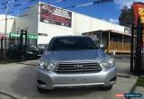 Classic 2009 Toyota Kluger KXR Silver Automatic A Wagon for Sale