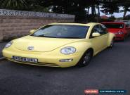Yellow VW Beetle 2.0L W Reg 113k Miles for Sale