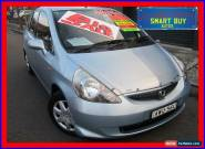 2005 Honda Jazz Upgrade VTi Blue Automatic 7sp A Hatchback for Sale