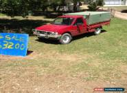 96 holden rodeo turbo diesel for Sale