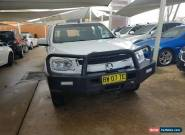 Holden Colorado LS Dual Cab Chassis Manual 4x4 for Sale