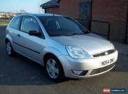 2004 54 FORD FIESTA 1.4 FLAME MET SILVER  for Sale