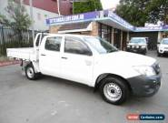 2011 Toyota Hilux TGN16R MY11 Upgrade Workmate White Automatic 4sp A for Sale