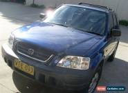 HONDA CRV 4X4 08/1998 5 SPD MANUAL STEER AND AIR FEBRUARY 2016 REGO CHEAP for Sale