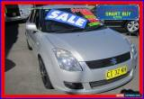 Classic 2010 Suzuki Swift EZ 07 Update S Silver Manual 5sp M Hatchback for Sale