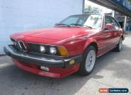 1986 BMW 6-Series 2dr Coupe GT for Sale