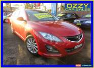 2012 Mazda 6 6C Touring Red Automatic 6sp A Wagon for Sale