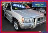 Classic 2004 Jeep Grand Cherokee WG Limited Vision Series Silver Automatic 5sp A Wagon for Sale