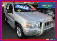 2004 Jeep Grand Cherokee WG Limited Vision Series Silver Automatic 5sp A Wagon for Sale
