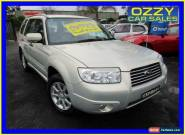 2006 Subaru Forester MY06 XS Luxury Gold Automatic 4sp A Wagon for Sale