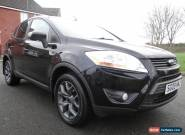 2009 FORD KUGA 4x4 2.0 ZETEC TDCI GLEAMING BLACK LONG MOT JUST SERVICED LOOK for Sale