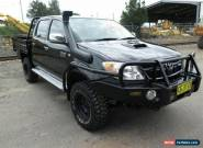 2007 Toyota Hilux KUN26R 07 Upgrade SR5 (4x4) Black Manual 5sp M for Sale