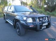 2008 Nissan Navara D40 ST-X Grey Automatic 5sp A 4D UTILITY for Sale