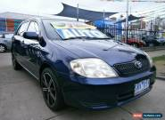 2003 Toyota Corolla ZZE122R Ascent Seca Automatic 4sp A Hatchback for Sale