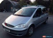 2005 FORD GALAXY SILVER TDI SILVER spares or repair for Sale