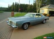 1977 Pontiac Grand Prix for Sale