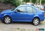 Classic **MOT June 2017** Volkswagen Bora 1.6 2001 SE (NO RESERVE) for Sale