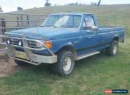 Ford F150XLT V8 4WD 1988 for Sale